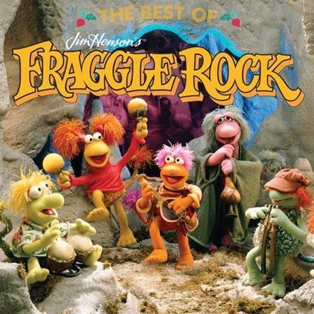 The Fraggles - The Best of Jim Henson's Fraggle Rock Colored Vinyl LP