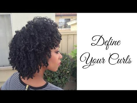 Define Your Curls Using Denman Brush - YouTube