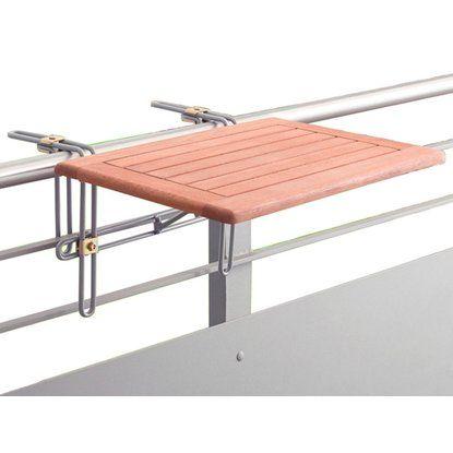Balkon Hangetisch 60 Cm X 40 Cm Eukalyptus Kaufen Bei Obi Balkon Dekor Haus Balkon