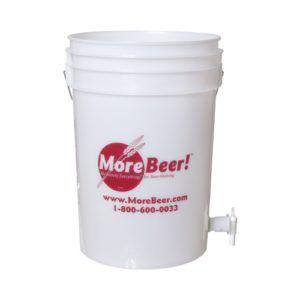 6 Gallon Bucket W Spigot And Sediment Filter Fermentation Or Bottling 13 99 Homebrew Home Brewing Fermentation Food Grade Buckets