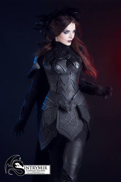 The Elder Scrolls SKYRIM Nightingale cosplay FEMALE armor – high quality eva costume – Skyrim thief larp friendly halloween costume The Elder Scrolls SKYRIM Nachtigall.