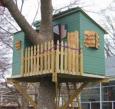 Kauri Treehouse Plans To Build In One Tree Or Free Standing Image 1 Tree House Plans Cool Tree Houses Tree House Kids