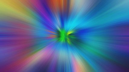 Abstract Multicolored Zoom Effect Background Digitally Generated Image Rays Of Versicolor Light Colorful Radial Abstract Stock Illustration Abstract Artwork