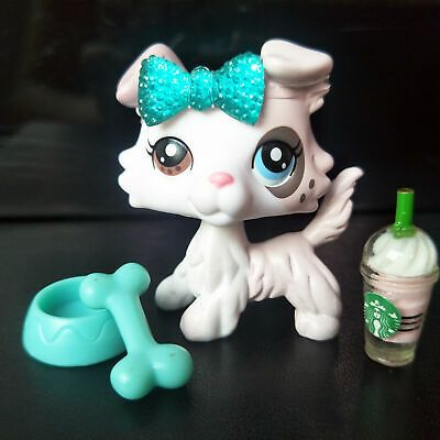 Authentic Hasbro Littlest Pet Shop Lps Collie Dog Ice Cream Dog Very Rare Cute Lps Collies Lps Pets Lps Littlest Pet Shop