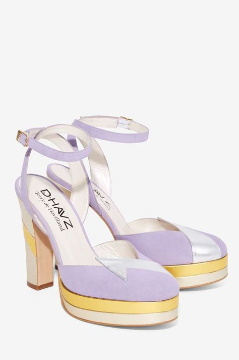 Nasty Gal x Terry de Havilland Direction Platform Heel - Shoes | Heels | Platforms | Rainbow Riot | All Party
