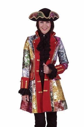 Lapjes jas of Carnaval jas dames lapjes patchwork zijn