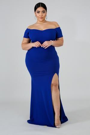 Dainty Maxi Mermaid Dress Blue Plus Size Dresses Royal Blue Bridesmaid Dresses Dresses