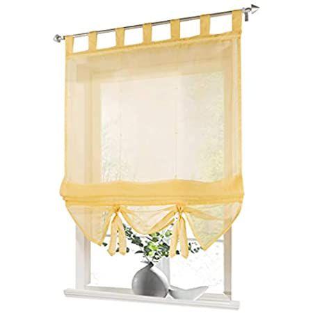 Amazon De Unbekannt Scheibengardine Raff Gardine Raffrollo Vorhang Sanna 180 X 120 Cm Bxh In 2020 Vorhange Kuche Wohnkuche Schlafzimmerfenster Vorhange