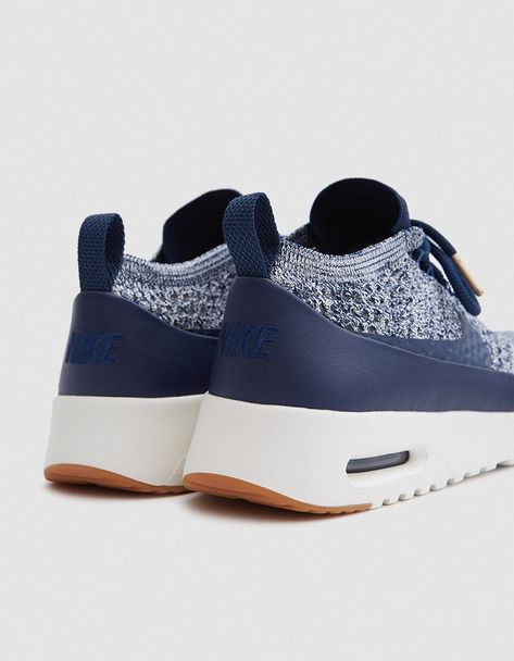 the best attitude 382c2 51128 Nike Air Max Thea Ultra Flyknit in College Navy