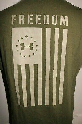 Under Armour 1344504 Mens Ua Freedom Tech Tee Tactical Short Sleeve T Shirt Fa Under Armour 1344504 Mens Ua Freed Freedom Shirts Tactical Shorts Tech Tee