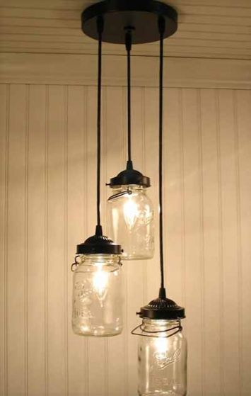 Mason Jar Light - For about $100. LOVE THIS! Can't wait to try and ...