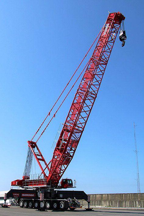 First LIEBHERR LG 1750 In Spain | Crane Plus | Crane