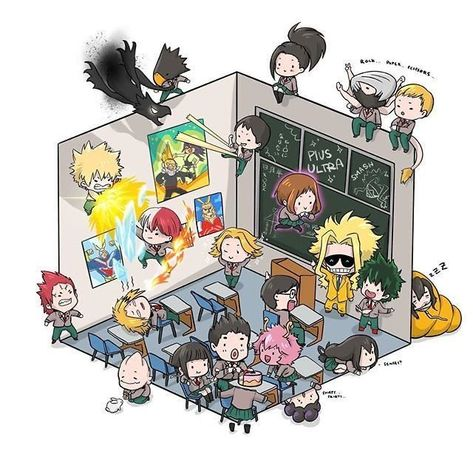 Drawings to do in the classroom – About Anime Fairy Tail Anime, Chibi Fairy Tail, My Hero Academia Shouto, Hero Academia Characters, Anime Characters, Anime Kawaii, Anime Chibi, Anime Art, Cool Animes