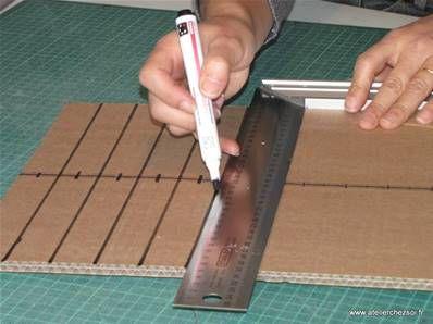 Blog Conseils Meubles En Carton Tous Les Conseils Meubles En Carton Technique Meuble En Carton Decouper Des Tr Meuble En Carton Carton Mobilier De Salon