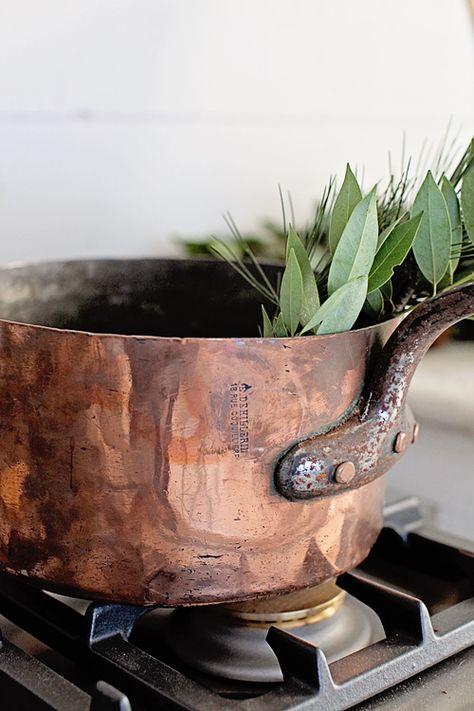 Vintage French Dehillerin Copper Pot