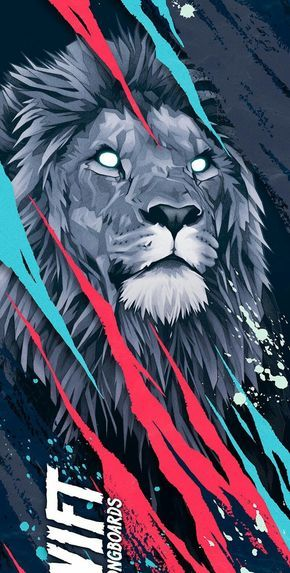 45 Abstract Iphone X Wallpaper Hd Funmary Art Wallpaper Lion Wallpaper Lion Art