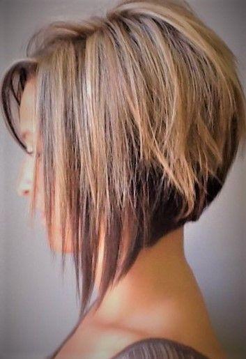 Cute Medium Short Wedge Bob Hairstyle Haircuts For Fine Hair