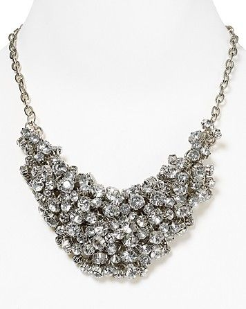 """Aqua Cluster Necklace, 18"""" - All Jewelry - Jewelry - Jewelry & Accessories - Bloomingdale's"""