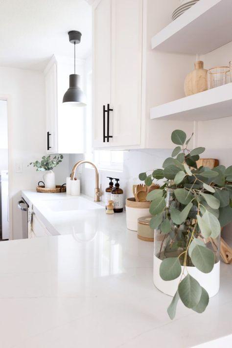 modern and minimal home decor inspiration simple white kitchen with . - modern and minimal home decor inspiration simple white kitchen with … – modern and minimal home - Küchen Design, Layout Design, Design Ideas, Design Trends, Nordic Design, Design Styles, Decor Styles, Graphic Design, Interior Minimalista