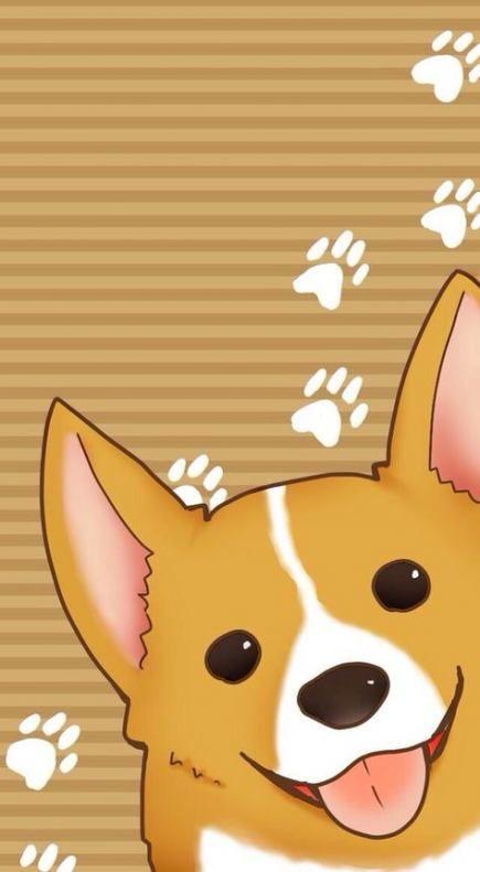 Dogs Wallpaper Drawing 53 Ideas Dog Wallpaper Iphone Corgi Wallpaper Iphone Corgi Wallpaper