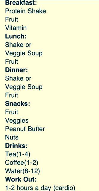 Juice diet plan dr oz