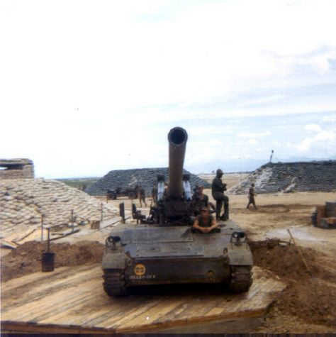 Camp Carrol 175mm Howitzer