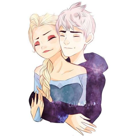 quick doodle from yesterday~ #jelsa @believeinfrost