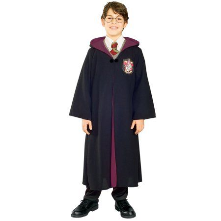 Adult Size Ginny Weasley Style Costume INCLUDES ROBE TIE AND WIG ONLY