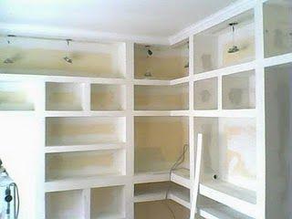Resultado De Imagen Para Muebles De Durlock Para Habitaciones Muebles Con Durlock Diseno De Armario Para Dormitorio Diseno De Armario