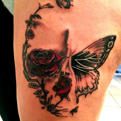 #skull #skulltattoo #tattoo_artist #inked4life