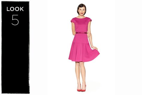 Fitted dress in pink @ Target, Old Hollywood quinceanera theme