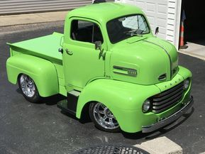 1948 Ford Coe Custom Pickup Conversion W 350 Chevy 5 Speed Auto 1950 Ford Chassis Mustang Suspension Over Classic Trucks Custom Trucks Ford Classic Cars