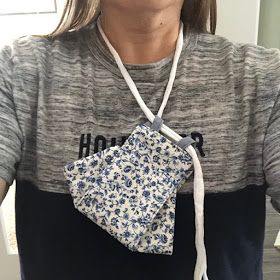 Origami 3d, Fabric Origami, Easy Face Masks, Diy Face Mask, Sewing Hacks, Sewing Tutorials, Mascara 3d, Sewing Machine Thread, How To Make Tshirts