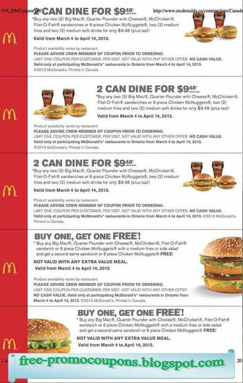 free printable mcdonalds coupons free printable coupons august 2017 great discount percentage pinterest mcdonalds coupons mcdonalds and coupons