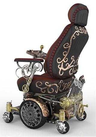 Wow! steampunk-wheelchair-greg-hurley-02