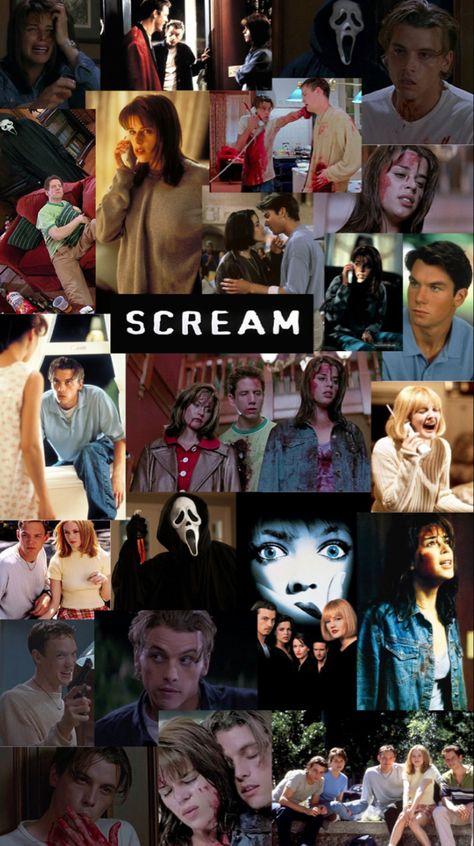 Scream Movies Collage