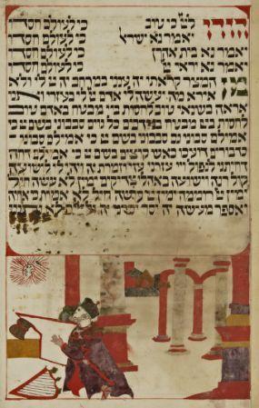 Manuscrits Hebreux Rituel De La Paque Date D Edition 1701 1800 Manuscrit Lettre Hebraique Bibliotheque Nationale