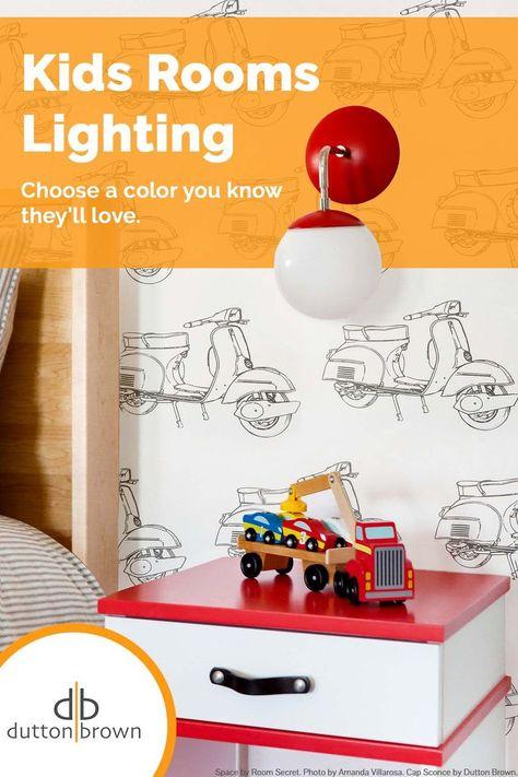 Kids Room Lighting and Play Room Lighting