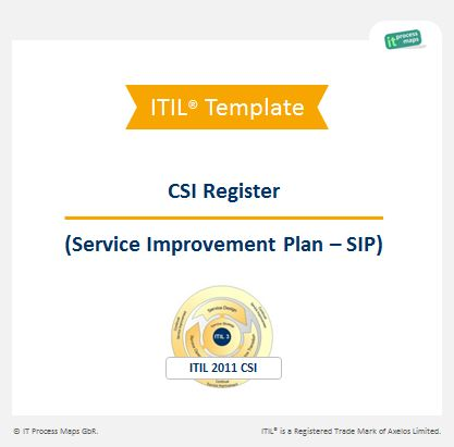 23 best ITIL images on Pinterest Template, Operating model and - improvement plan template