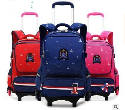 120c01076d4c Rolling School bags for boys School Rolling backpack Bags for kids ...