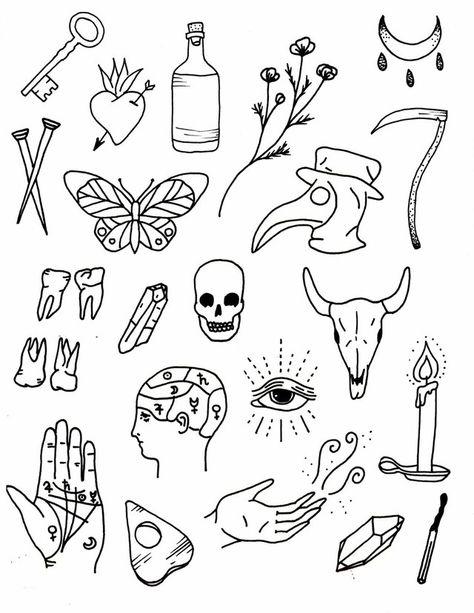Doodle Tattoo, Kritzelei Tattoo, Tattoo Hand, Grey Tattoo, Mini Tattoos, Body Art Tattoos, Small Tattoos, Flash Art Tattoos, Sleeve Tattoos