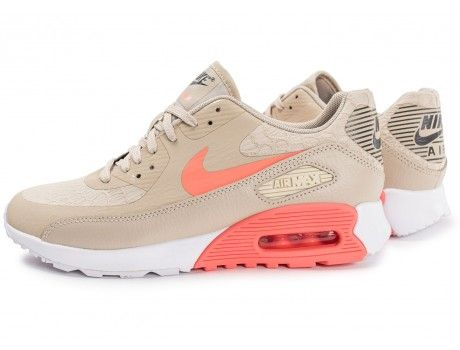 air max beige and pink