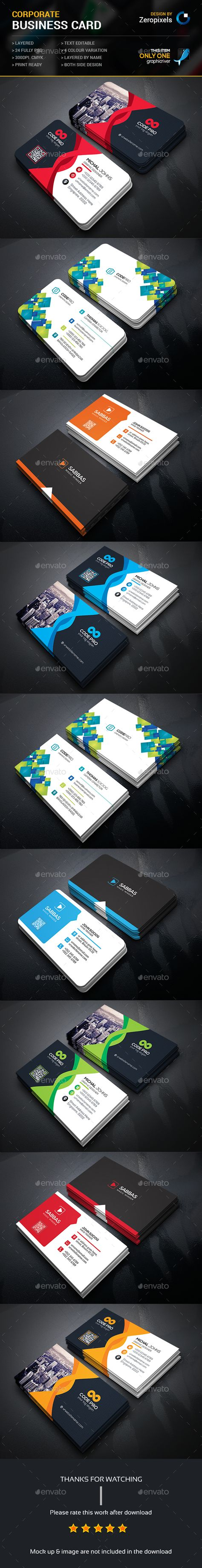 Business Card Bundle Business Cards Corporate Business And Business