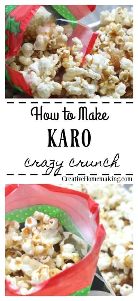 Karo Crazy Crunch | Desserts | Dessert recipes, Recipes