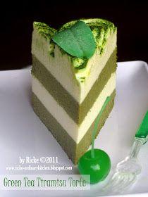 Just My Ordinary Kitchen Lbt 7 Cotton Cake Green Tea Tiramisu Torte Resep Makanan Penutup Kue Lezat Ide Makanan