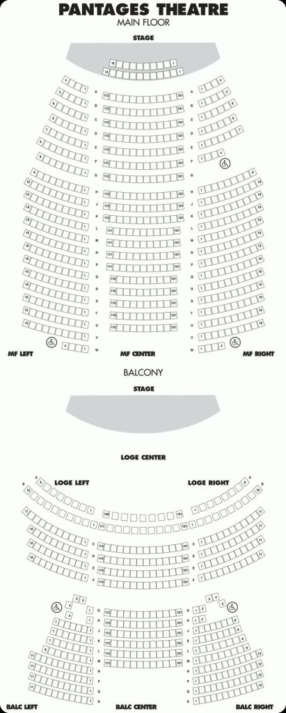 Orpheum Seating Chart Mn