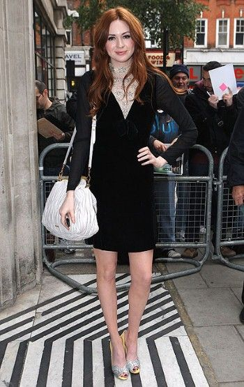 As Doctor Who actress Karen Gillan gets ready for a 'heartbreaking' exit from the series, we take a look at her style hits.
