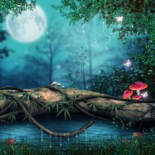 Latest Cb Background Stock 2018 3d Nature Wallpaper Landscape Wallpaper Fantasy Forest