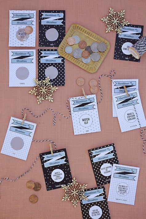 scratch off activity advent by melanieblodgett for Julep