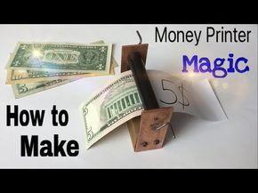 How To Make A Money Printer Machine Easy Way Magic Trick